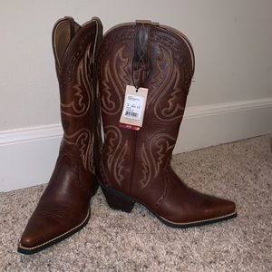 NWT Ariat Women's Heritage Western X Toe